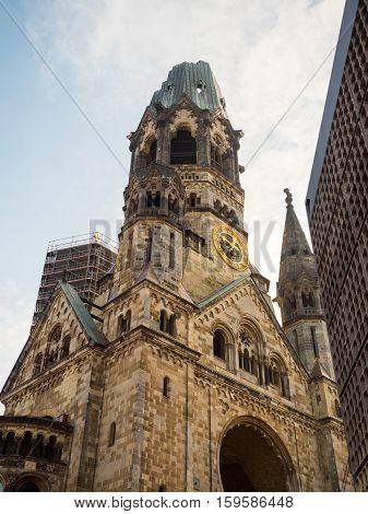 The Memorial Church In Berlin
