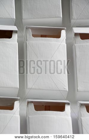 Pack of cigarettes white colour group objects.