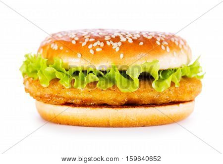 Burger With Chicken