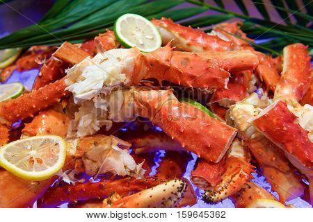 Fresh Alaskan King Crab