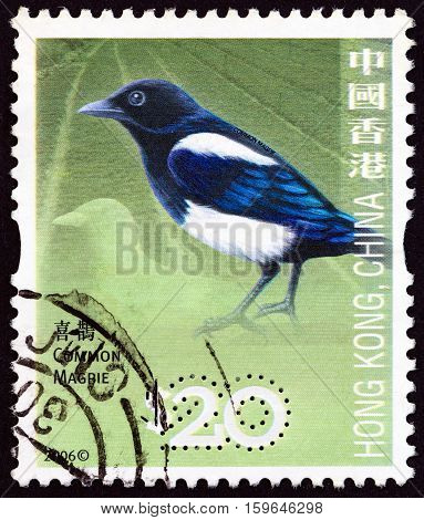 HONG KONG - CIRCA 2006: A stamp printed in Hong Kong from the