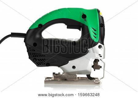 new jig saw on a white background