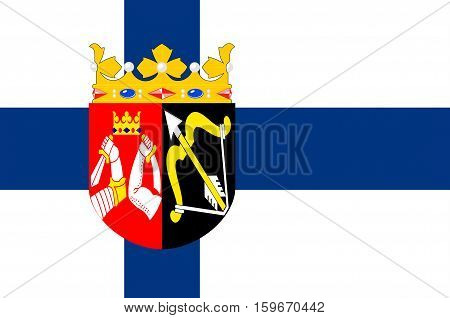 Flag of Eastern Finland Province of Finland.