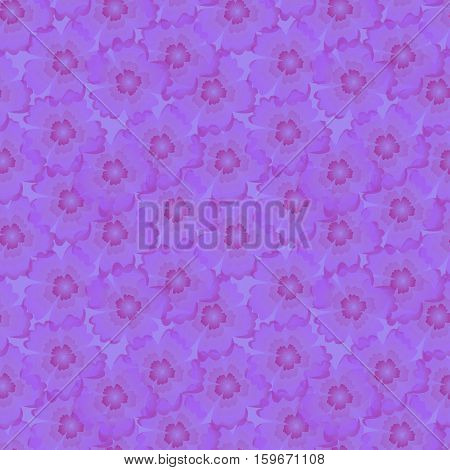 Beautiful Seamless Pattern With Flowers For Fabric, Wallpaper, Web Design.