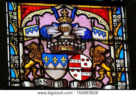 Stained Glass - Coat Of Arms