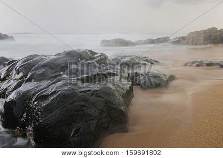 Seascape taken at Kingsburgh. Kwa Zulu Natal South Africa.
