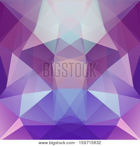 Abstract Geometric Style Purple Background. Purple, Blue Colors. Vector Illustration