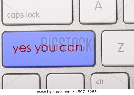 Yes you can word written on computer keyboard.