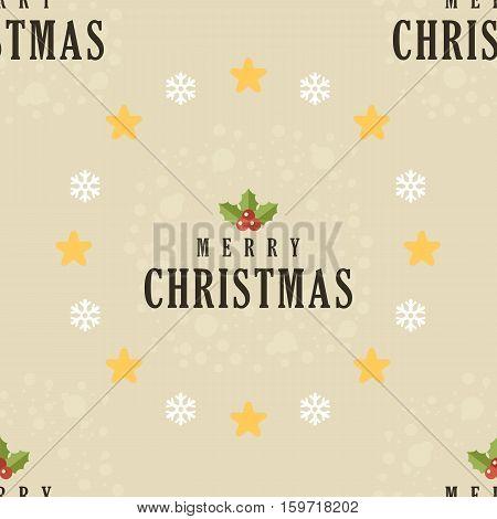 Seamless Christmas pattern. Scrapbooking paper. Vector  illustration