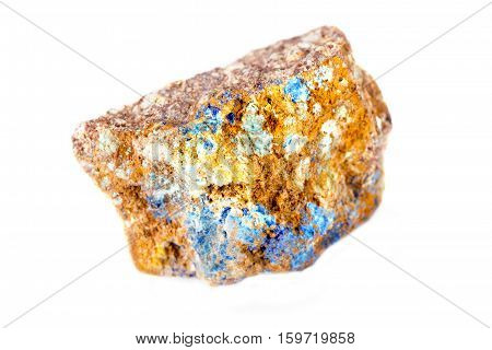 Lapis stone on a white background - is very nice