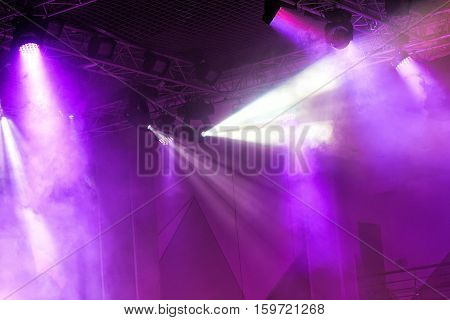 Stage lights. Very nice Soffits. Concert light