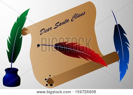 letter for Santa Claus , Dear Santa Claus