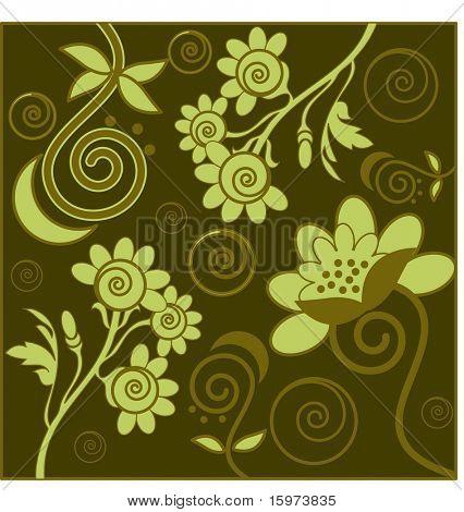 funky pattern design vector