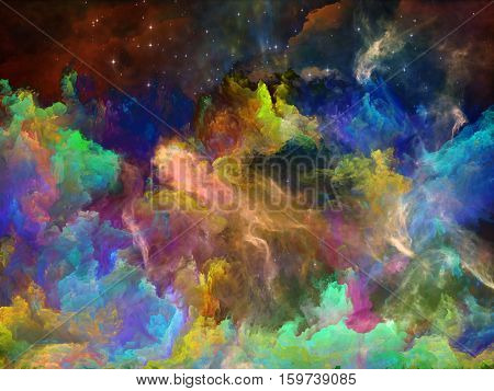 Voyages To Space Nebula