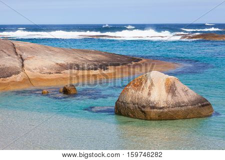 A corner of Greens Pool in William Bay National Park near the town of Denmark, Western Australia.