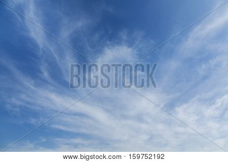 cloud with blue sky as background and texture