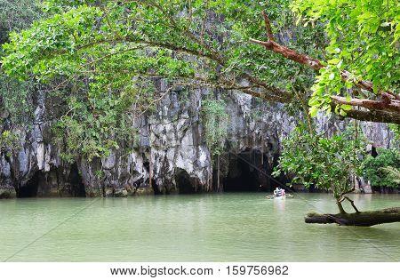 Entrance To The Puerto Princesa Subterranean River