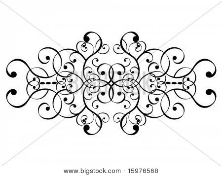 filigree design - separate elements to have fun with