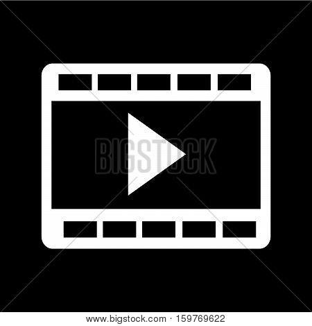 an images of film strip icon illustration design