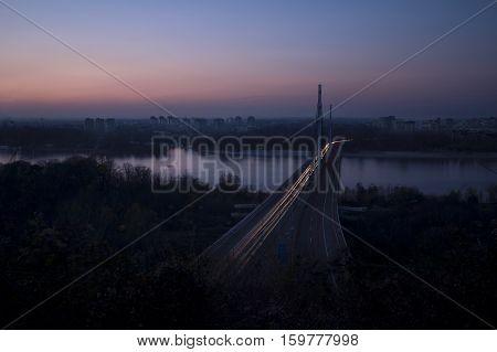 City lights Blackout Earth Day Novi Sad Serbia