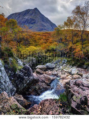 Buachialle Etive Mor, Glen Etive, Scotland, autumn