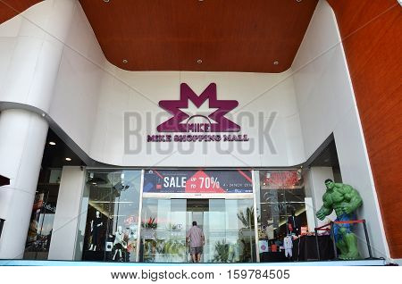 Mike Shopping Mall In Pattaya, Thailand.