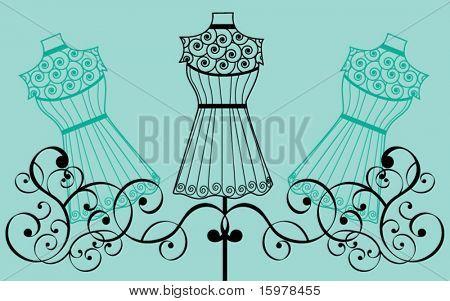 bodyform with filigree