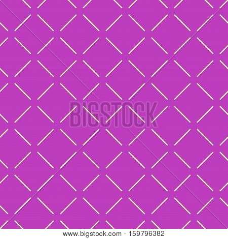 Line geometric seamless pattern. Fashion graphic background design. Modern stylish abstract texture. Colorful template for prints textiles wrapping wallpaper website. Stock VECTOR illustration