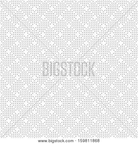 Seamless pattern. Art deco geometrical background. Modern stylish texture with thin dashed lines. Repeating tiles with rhombuses diamonds. Vector element of graphical design