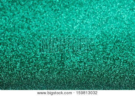 Defocused green abstract texture glitter background picture