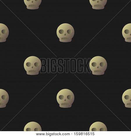 Skull Flat Style