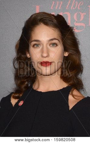 LOS ANGELES - DEC 1:  Lola Kirke at the