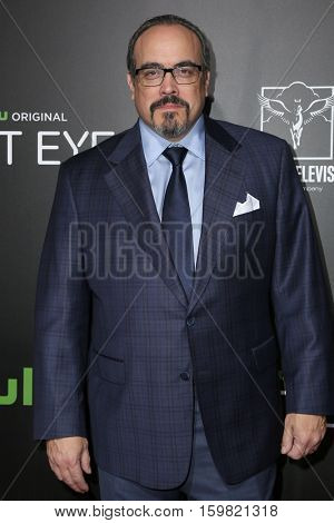 LOS ANGELES - DEC 1:  David Zayas at the Premiere Of Hulu's