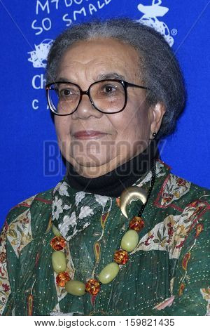 LOS ANGELES - DEC 1:  Marian Wright Edelman at the Children's Defense Fund - 26th Beat The Odds Awards at Beverly Wilshire Hotel on December 1, 2016 in Beverly Hills, CA