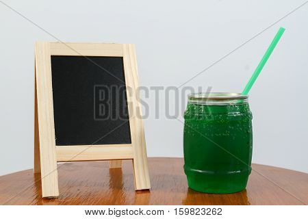 Green Apple Soda Juice
