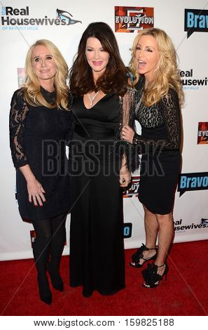 LOS ANGELES - DEC 2:  Kim Richards, Lisa Vanderpump, Camille Grammer at the
