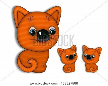 cats animals red baleen tailings striped eared
