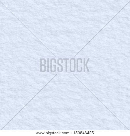Snow Surface Seamless Texture Background.