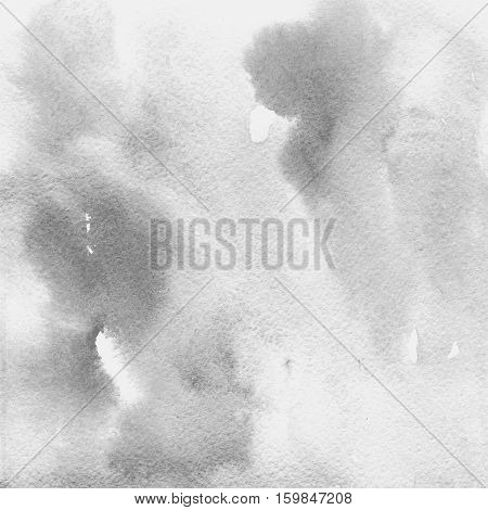 watercolor texture transparent light gray. watercolor abstract background spot blur fill