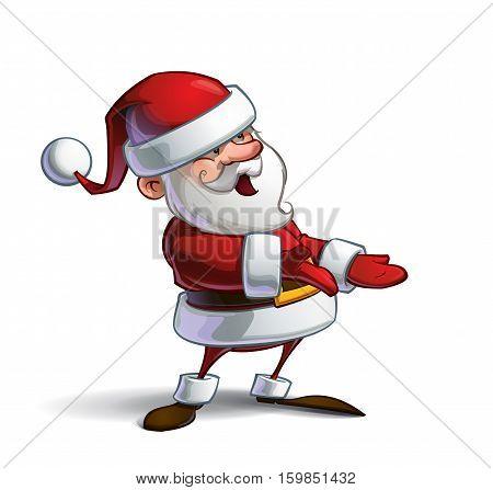 Happy Santa - Presenting
