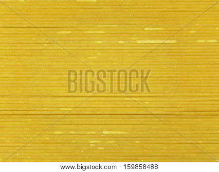 Raw Bright Color Whole Wheat Spaghetti, Closed up for Background, Pattern, Texture