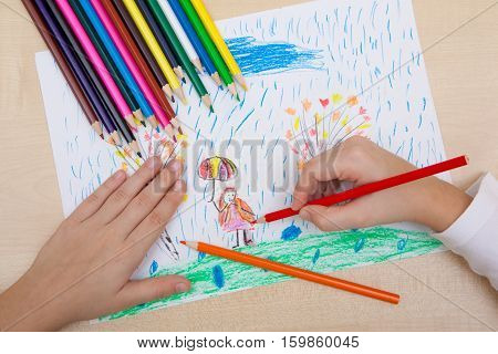 Children's Drawing Pencils.