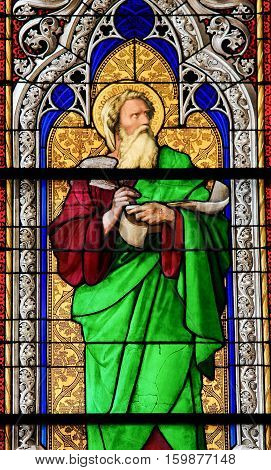 Stained Glass - The Prophet Ezechiel