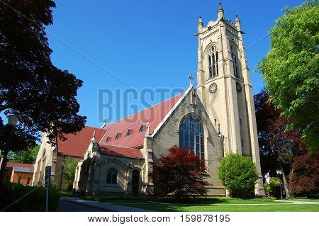 St. Paul's Episcopal Church in downtown Rochester, New York State, USA.