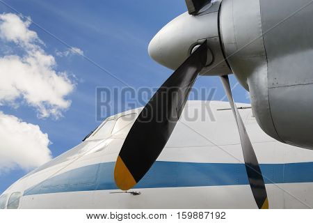 Airplane Turboprop Engine