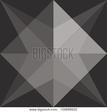 Black Color Of Background, Vector By Eps10