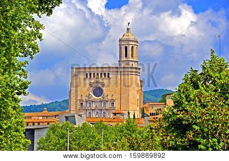 The Cathedral of Saint Mary of Girona, Spain