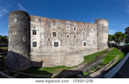 Castello Ursino In Catania, Sicily, Italy