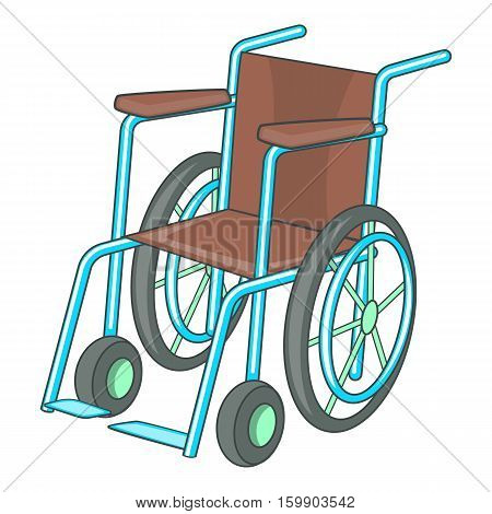 Wheelchair icon. Cartoon illustration of wheelchair vector icon for web design