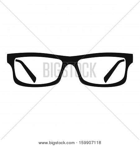 Eye glasses icon. Simple illustration of eye glasses vector icon for web